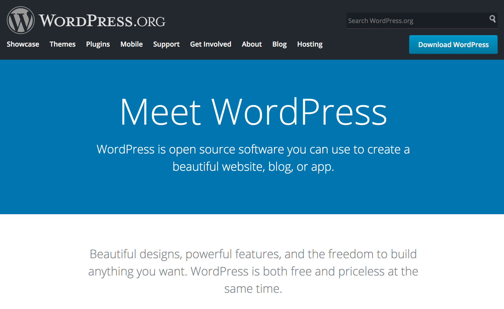 WordPress - a powerful platform to start a blog