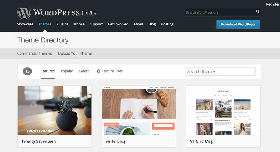 WordPress Plugin Direcotory