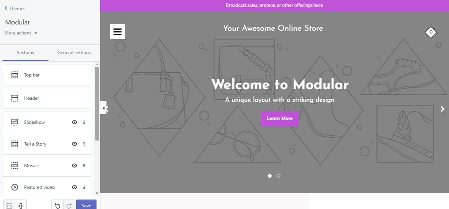 WooCommerce vs Shopify theme customizer in shopify