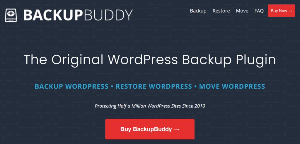 BackupBuddy web banner.