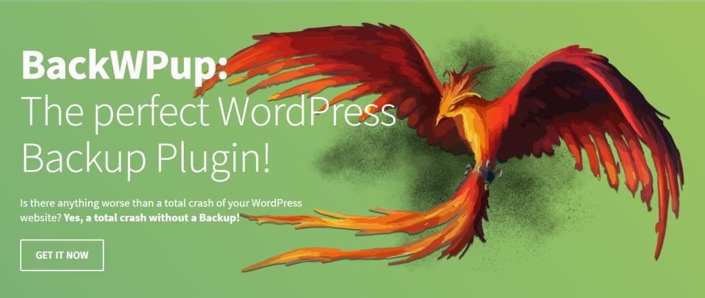 BackWPup web banner.