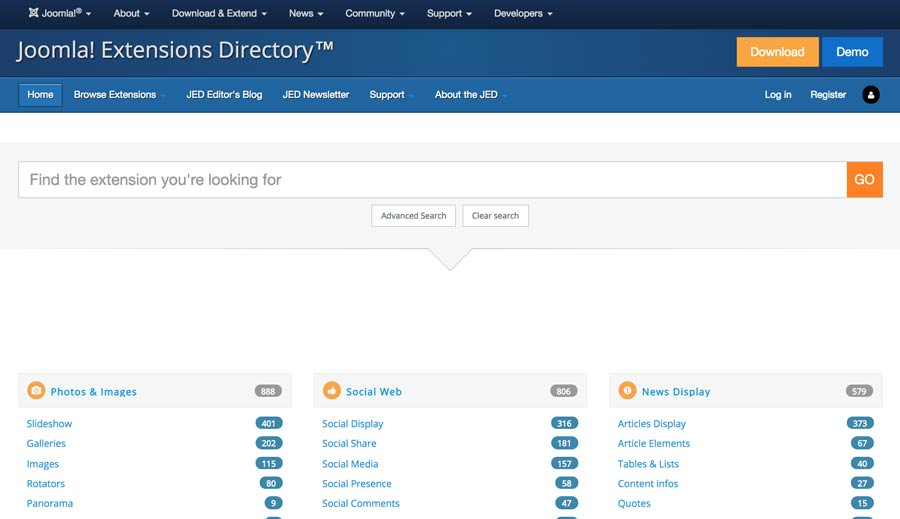 Joomla! Extension Directory