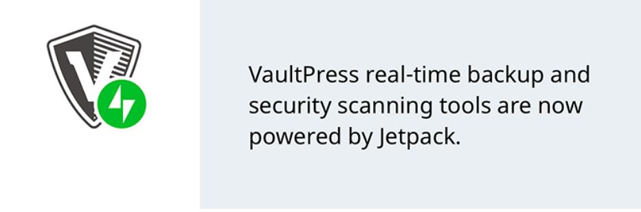 VaultPress banner