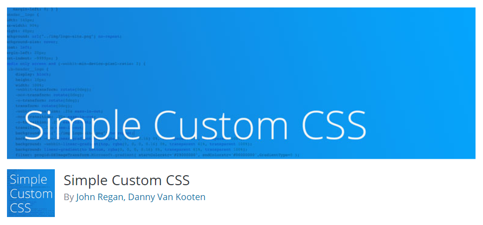 Installing Custom CSS plugin for WordPress