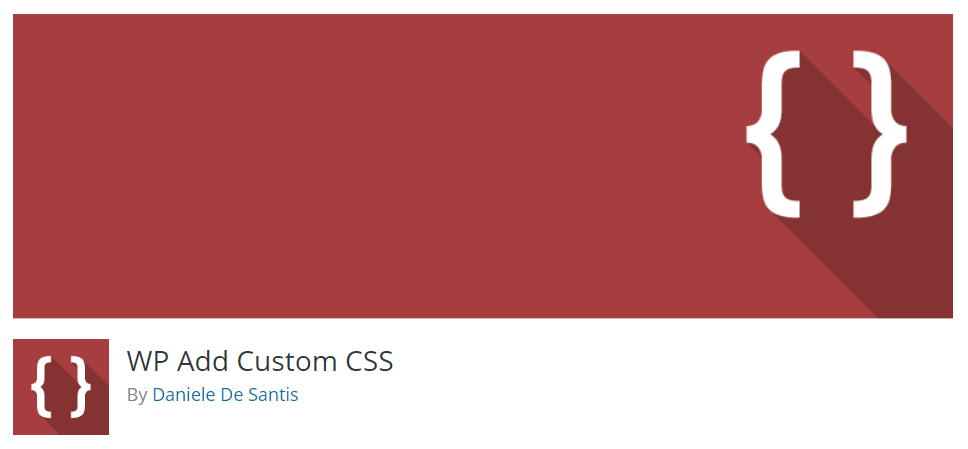 Installing WP Add Custom CSS plugin for WordPress