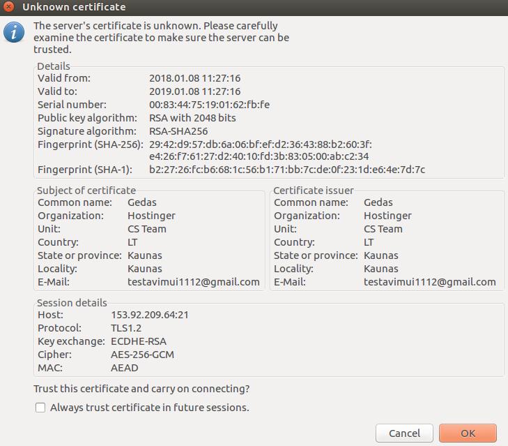 How To Set Up FTP Server On Ubuntu VPS