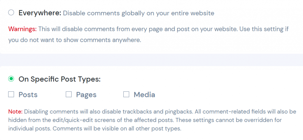 Disable wordpress Comments Using a WordPress Plugin - specific posts