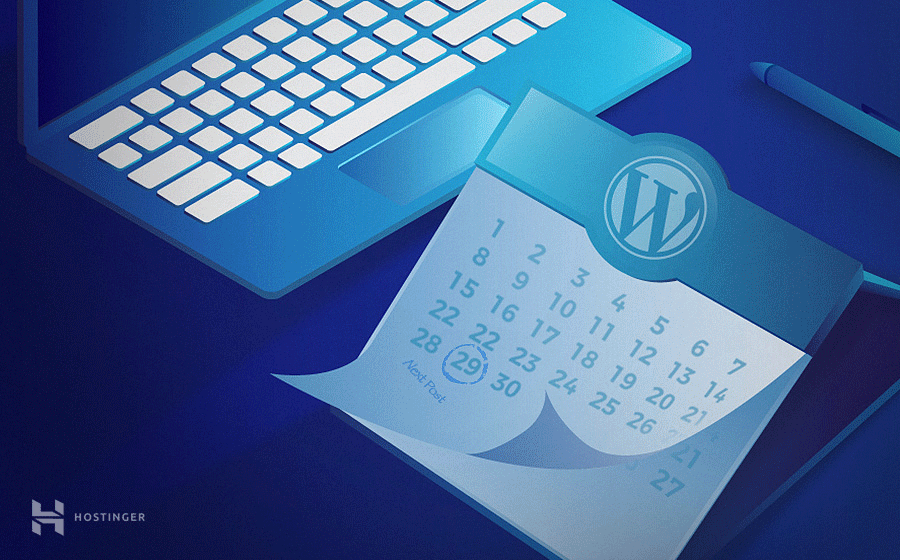 All about WordPress scheduled posts