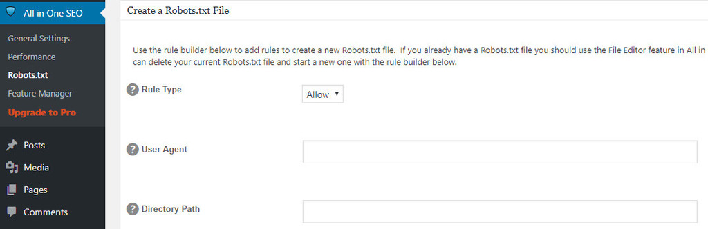 Adding new rules to your robots.txt file.