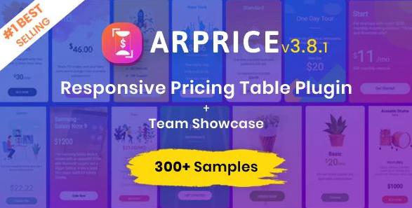 ArPrice WordPress Table Plugin
