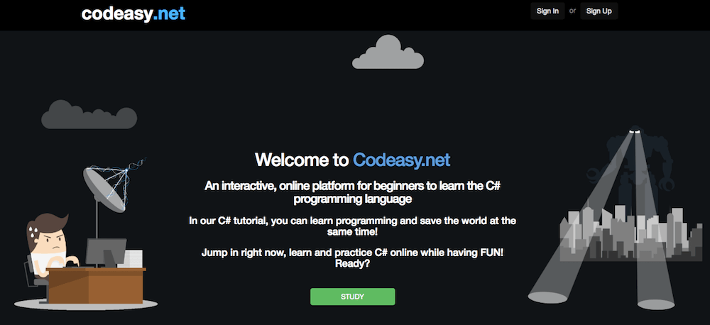 Learn coding online for free with Codeasy.net
