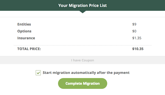 complete wix to wordpress migration