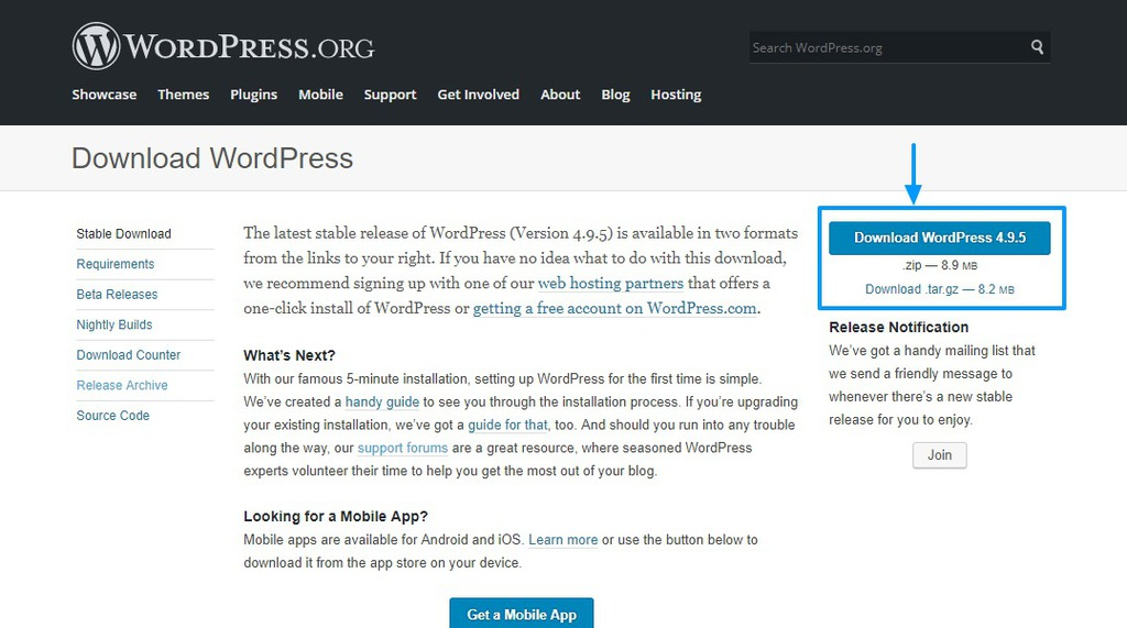 how to use wordpress org