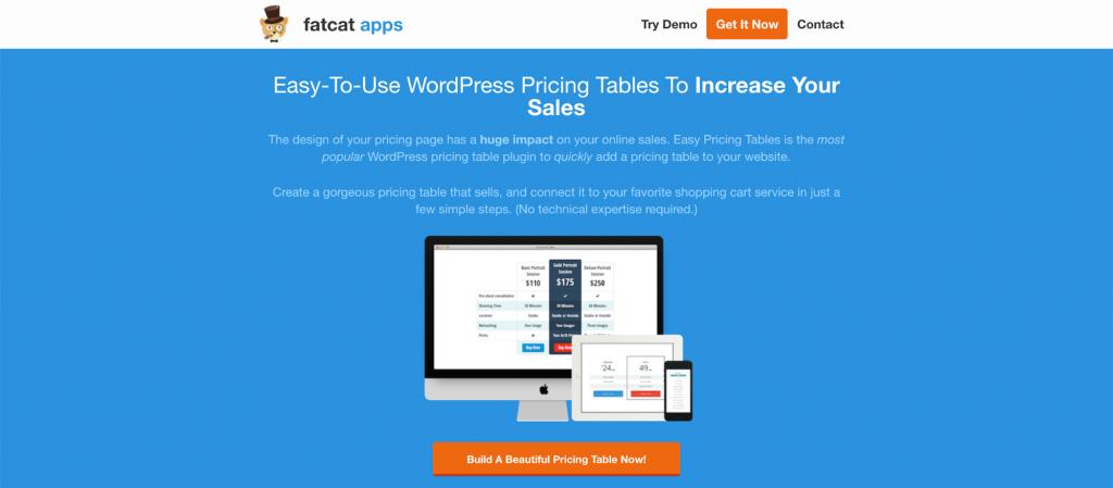Easy Pricing WordPress Table Plugin