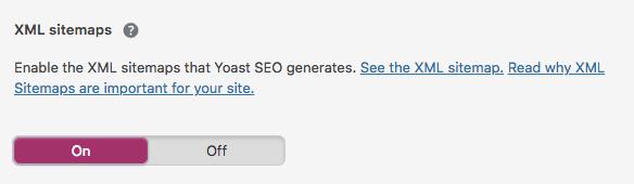 WordPress SEO tip - enable xml sitemaps