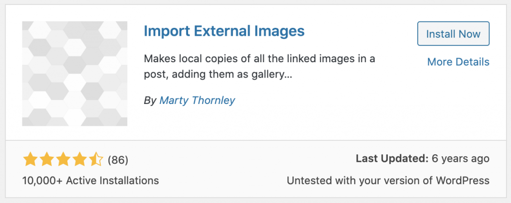 import external images from plugin