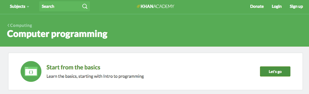 Learn coding online for free with Khan Academy