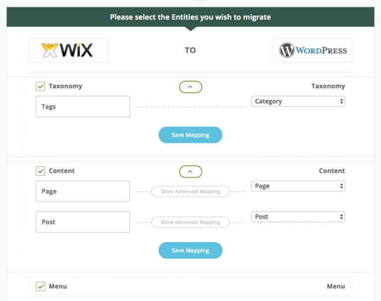 Wix to WordPress Media Import