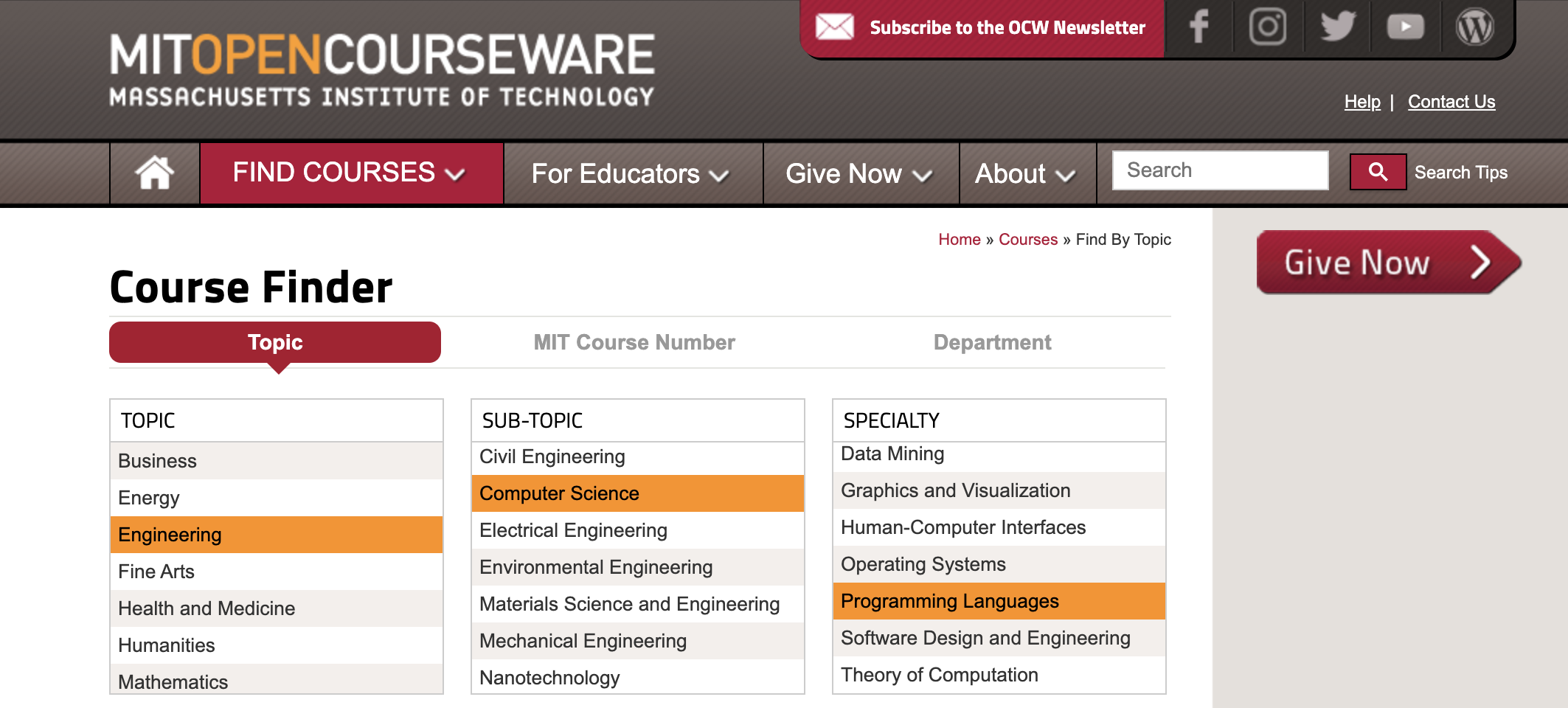 Learn coding online for free with MIT Open Courseware