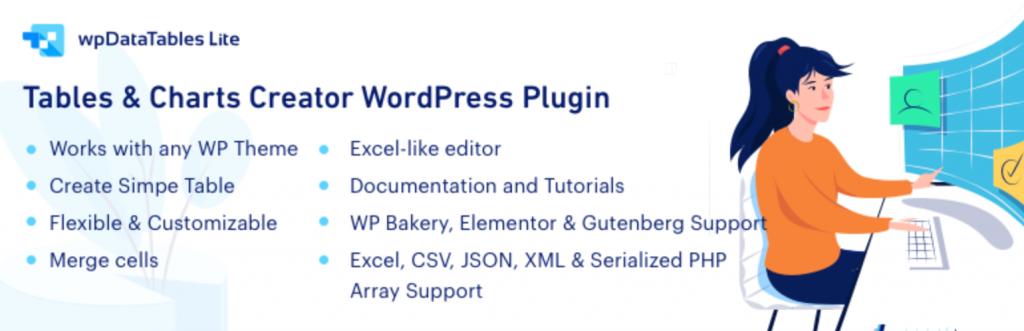 WP Data Tables WordPress Table Plugin