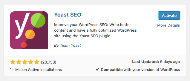WordPress SEO tip - setup Yoast SEO plugin