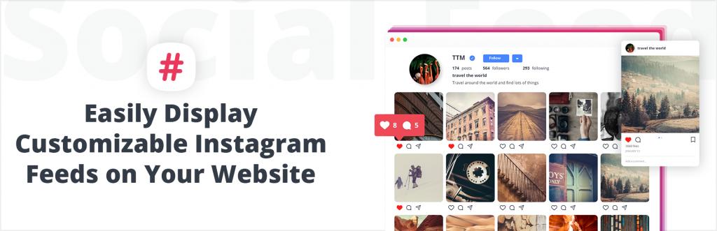 10Web Instagram Plugin