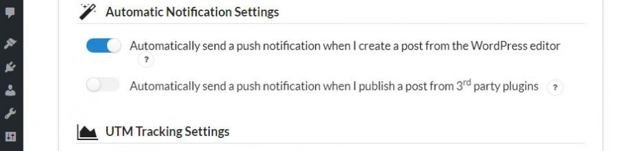 Configuring your automatic notification settings.