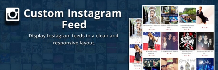 The Custom Instagram Feed plugin.