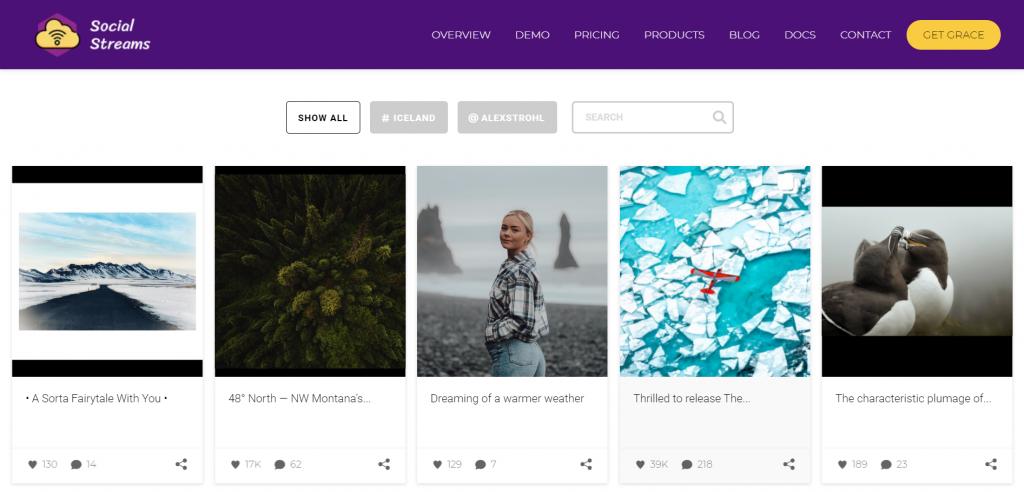Grace plugin homepage