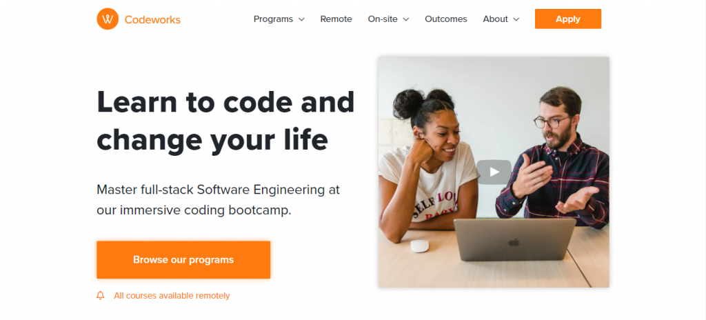 CodeWorks is a coding bootcamp that can help you become a web developer quick