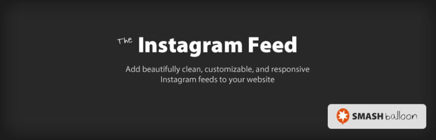 The Instagram Feed plugin.