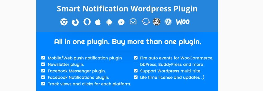 The Smart Notifications plugin.