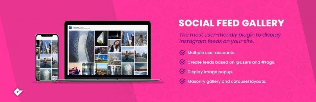 Social Feed Gallery plugin banner