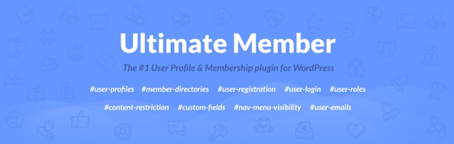 The Ultimate Member plugin.