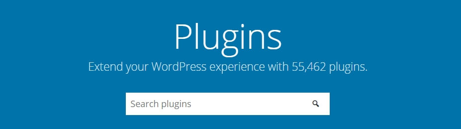 The WordPress plugins directory.