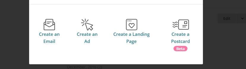 Créer un email.