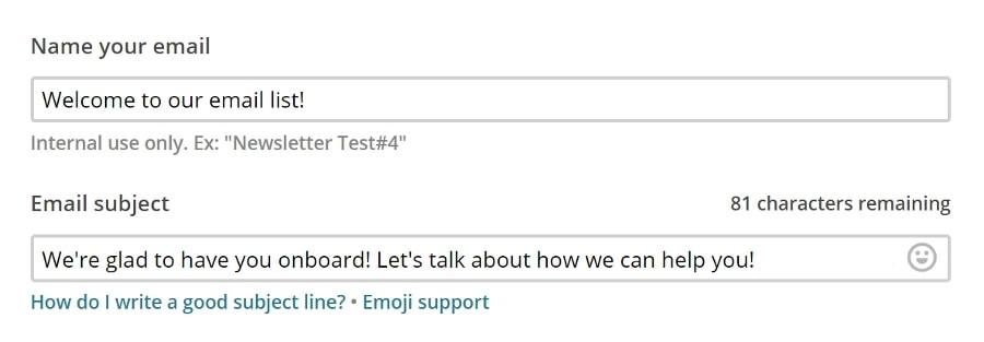 Configurer le texte de prévisualisation de votre email.