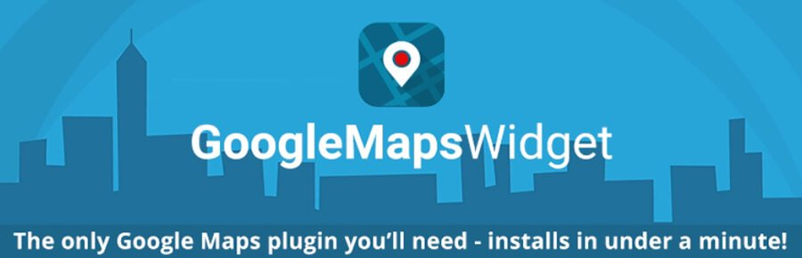 The Google Maps Widget plugin.