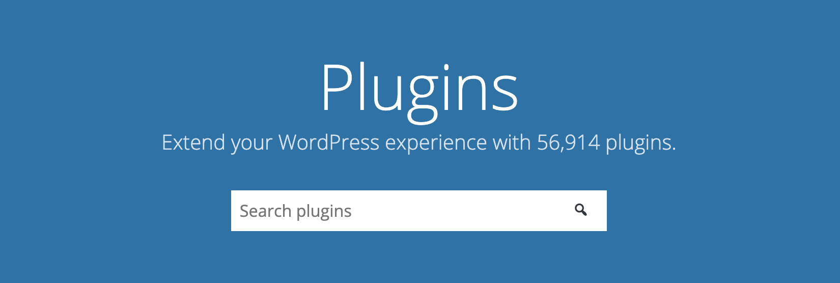 wordpress plugins landing page