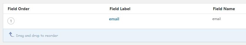 bạn đã cập nhật custom field group thành công