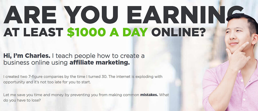 Website idea - an affiliate marketing blog.