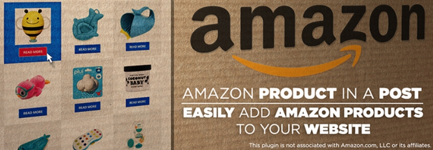 The Amazon Product in a Post plugin.