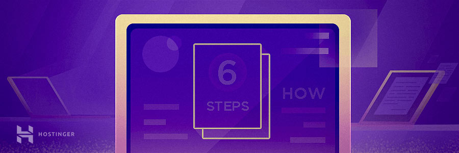 How to start a blog in six steps
