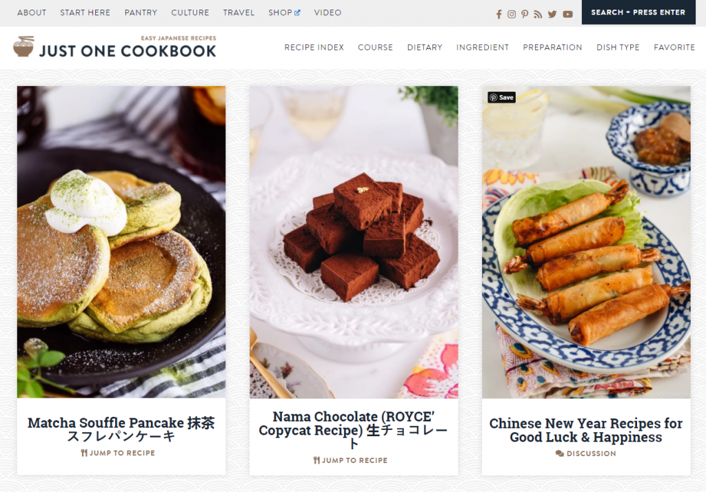 Wordpress themes can be a great choice for a neutral food blog theme