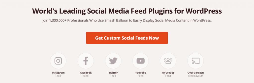 Smash Balloon Social Photo Feed plugin