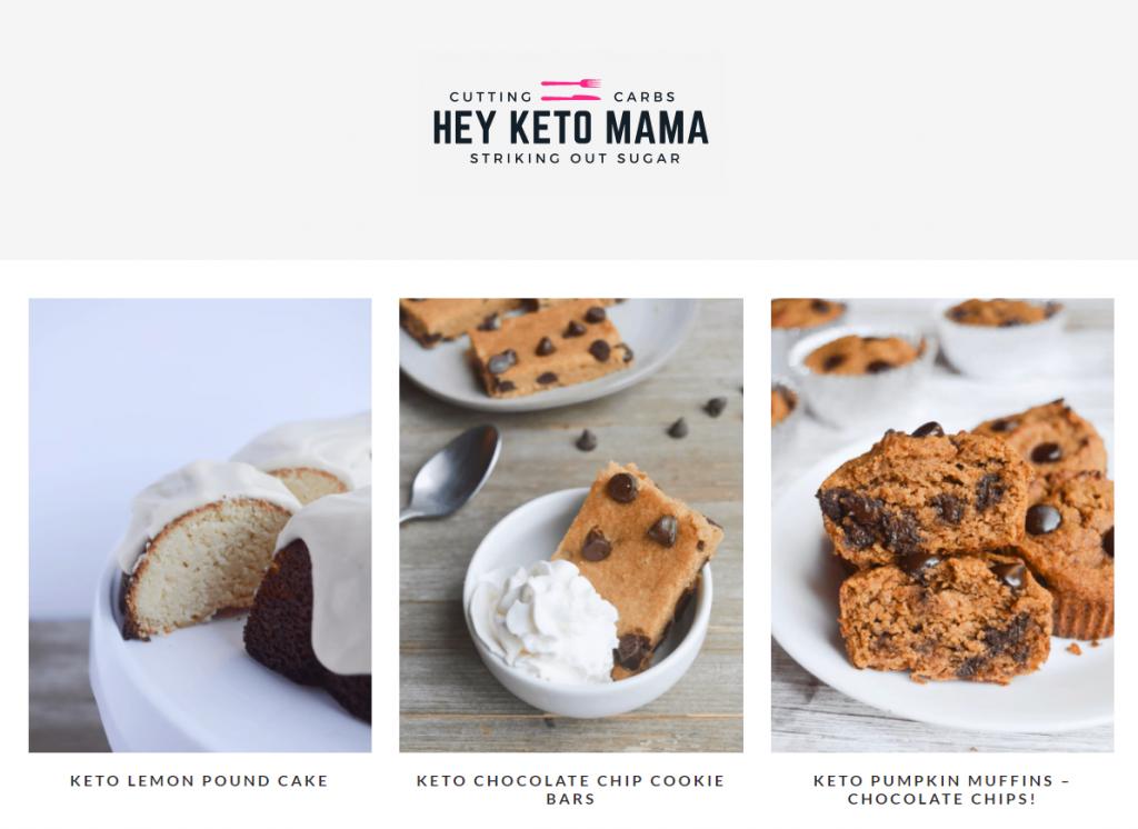 The Keto mama food blog