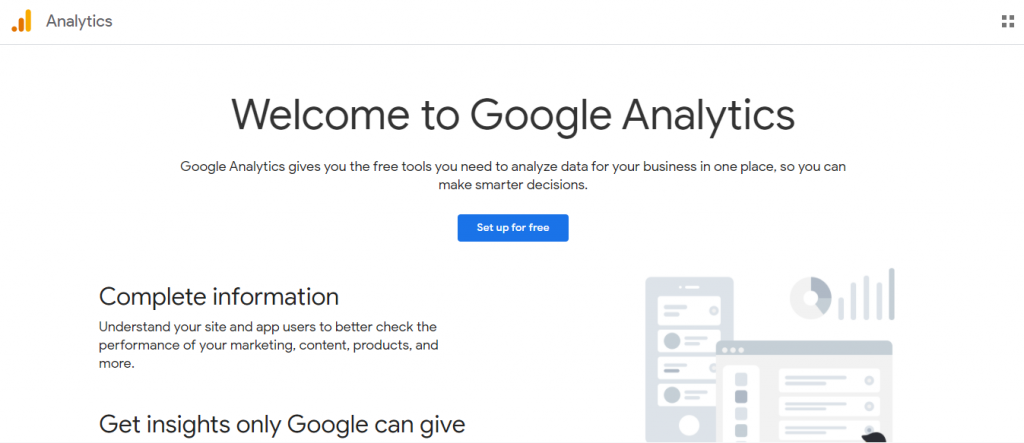 Use Google Analytics to know how well your travel blog is doing