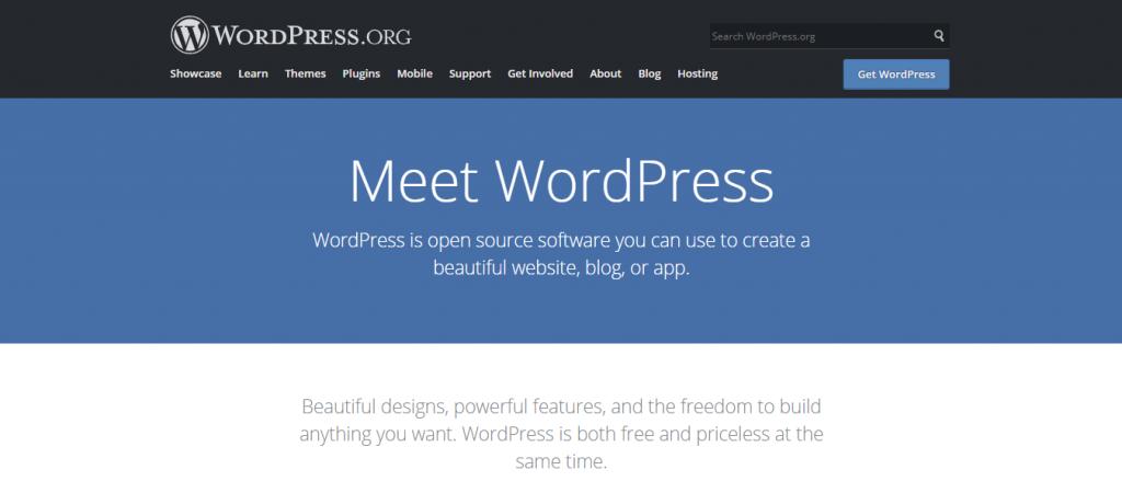 Install WordPress on your travel blog