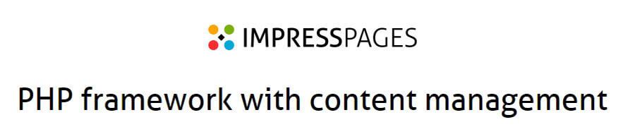 The Impress Pages homepage.