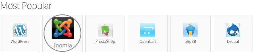 Install Joomla blog